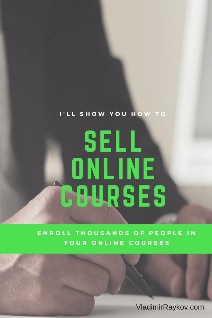 Sell Online Courses With Copywriting